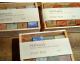 Boite de savons 5 bars = 600g. emballage individuel. avec des détails d'ingrédients.